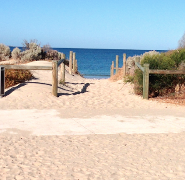Beach in Fremantle