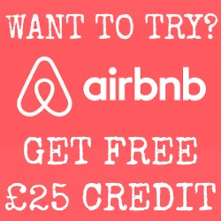 click for free airbnb credit