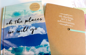 writing about your thoughts around homesickness in a travel journal can help